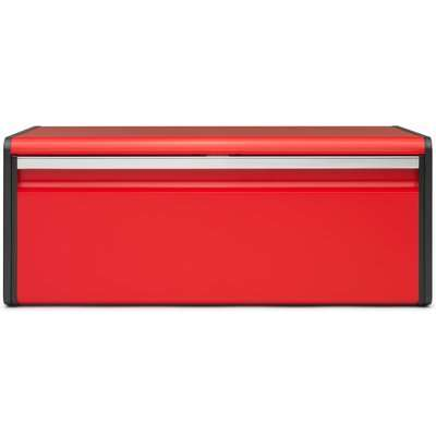 Brabantia Passion Red Fall Front Bread Bin Red