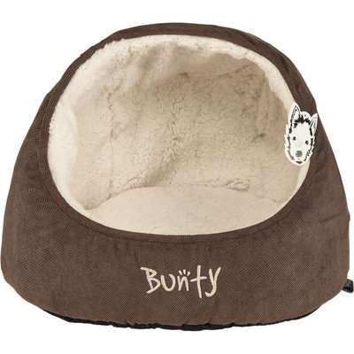 Bunty Brown Snuggery Cat Bed Brown