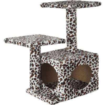 Bunty Leopard Print Cat Playhouse Asstd