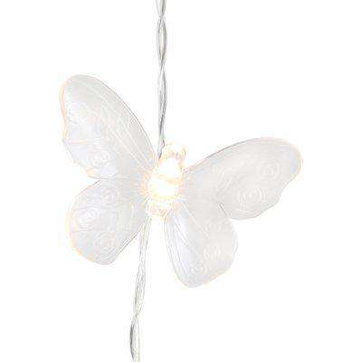 Butterfly String Light Clear