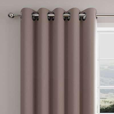 Caldo Thermal Dried Lavender Eyelet Curtains Purple