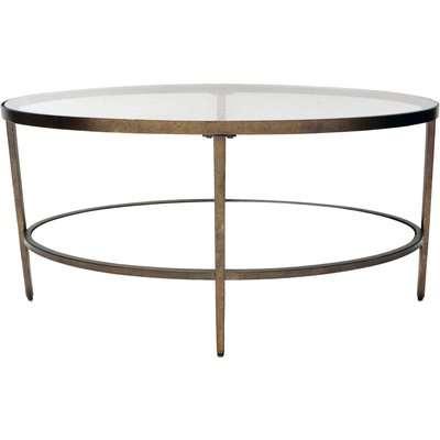 Caprice Coffee Table Brass