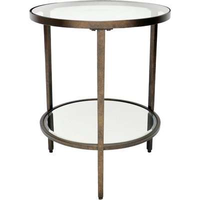 Caprice Side Table Brass