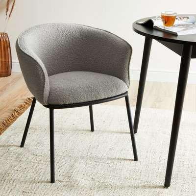 Ciara Chair Boucle Grey