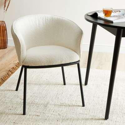 Ciara Chair Boucle Ivory
