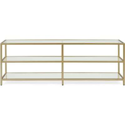 Claudia Gold Effect Wide TV Stand Gold