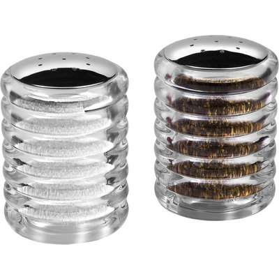 Cole & Mason Beehive Salt and Pepper Shakers Clear