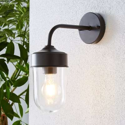Colmar Coffee Outdoor Wall Light Coffee