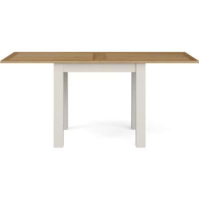 Compton Flip Top Dining Table Ivory