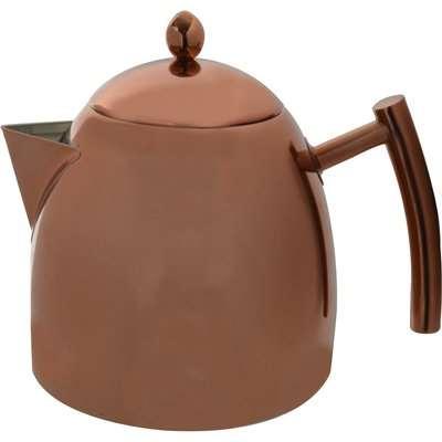 Copper Teapot 1.5L Brown