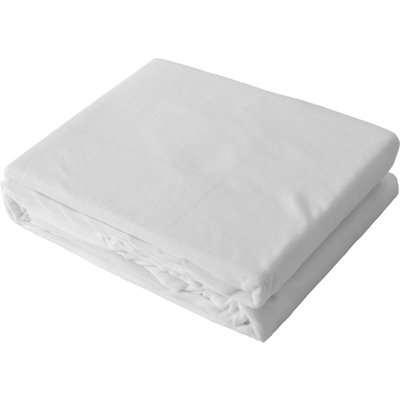 Cover for Memory Foam Mattress Topper White