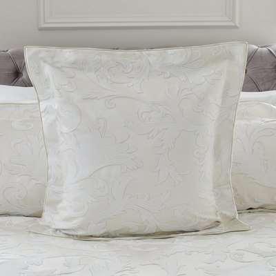 Dorma Acanthus Jacquard Duvet Cover Cream