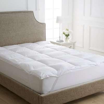Dorma Full Forever Mattress Topper White