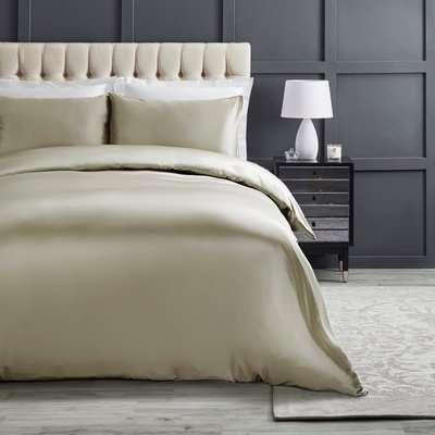 Dorma Ivory 100% Silk Duvet Cover Ivory