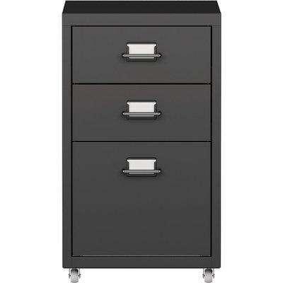 3 Drawer Filing Cabinet Black