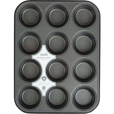 Dunelm 12 Cup Muffin Tray Silver