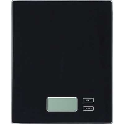 Dunelm Electronic Black Kitchen Scales Black