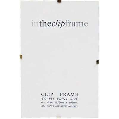 "Easy Clip Photo Frame 20"" x 27"" (50cm x 70cm) Clear"