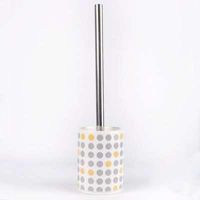 Elements Dots Toilet Brush White