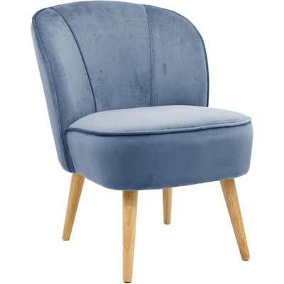 Elsie Cocktail Chair - Ashleigh Blue Blue