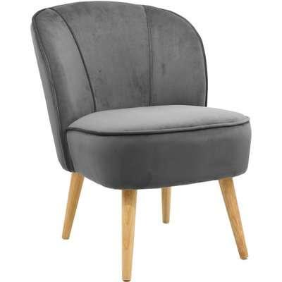 Elsie Cocktail Chair - Grey Grey