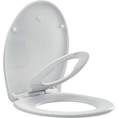 Family Toilet Seat White