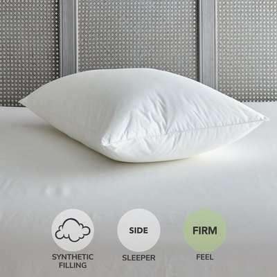 Feels Like Memory Foam Firm-Support Pillow White