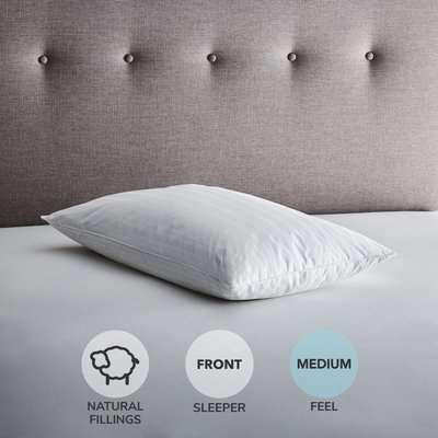 Fogarty White Goose Feather and Down 13.5 Tog Duvet White