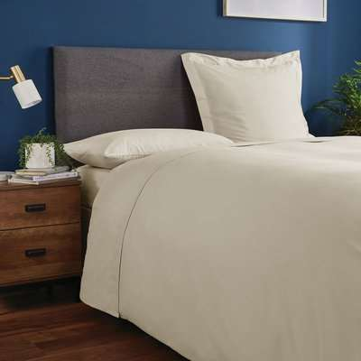 Fogarty Soft Touch Natural Continental Square Pillowcase Natural