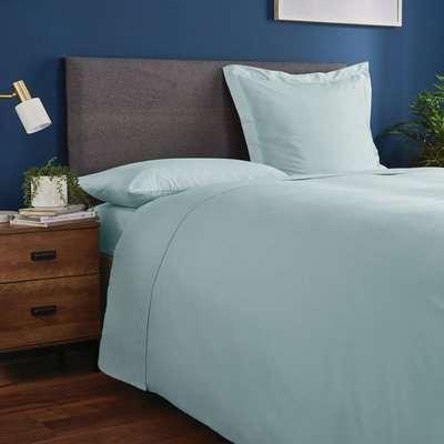 Fogarty Soft Touch Ocean Blue Continental Square Pillowcase Ocean (Blue)