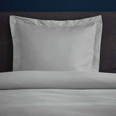 Fogarty Soft Touch Platinum Continental Square Pillowcase Platinum