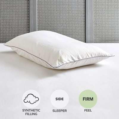 Fogarty Super Soft Memory Foam Firm-Support Pillow White