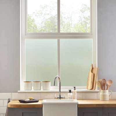 Frosted Static Window Film Clear