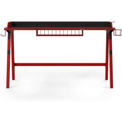 Fuego Gaming Desk Black/Red