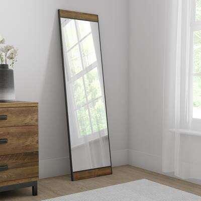 Fulton Full Length Mirror Brown