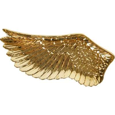 Gold Wing Trinket Dish Gold
