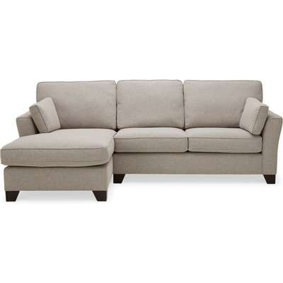 Grayson Left Hand Corner Chaise Sofa Brown