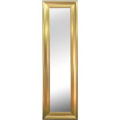 Gold Leaner Mirror Gold