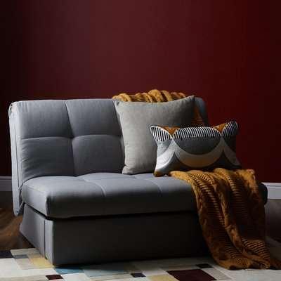 Grey Rowan Single Sofa Bed Grey