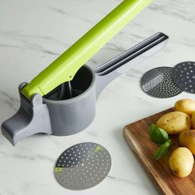 Handy Kitchen Potato Ricer Grey
