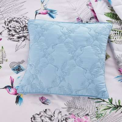 Heavenly Hummingbirds Memory Box White, Blue and Pink