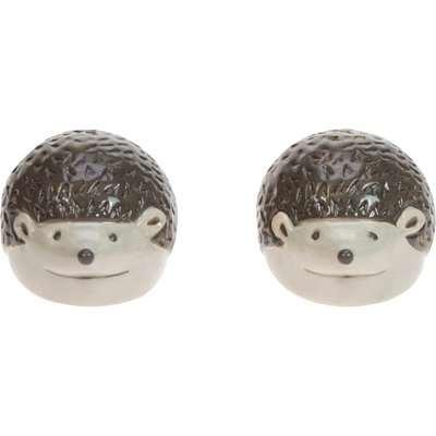 Hedgehog Salt & Pepper Shakers Brown