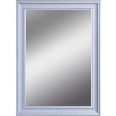 Impressionist Over Mantle Mirror Grey