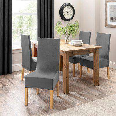 Isla Dining Chair Cover Grey