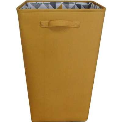 Jackson Ochre Laundry Basket Ochre