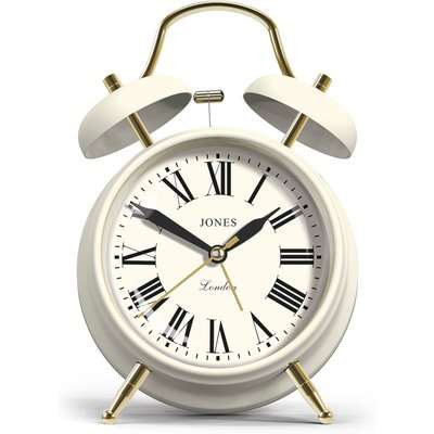 Jones Alarm Clock White White