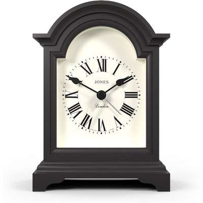 Jones Night and Day Gravity Grey Mantle Clock Grey