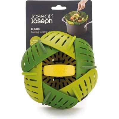 Joseph Joseph Bloom Folding Steamer Basket Green and Yellow