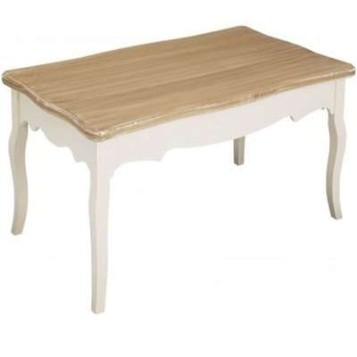 Juliette Coffee Table White and Brown