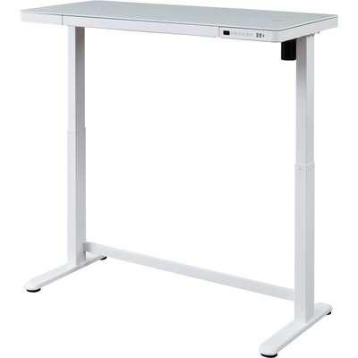 Koble Juno White Adjustable Standing Smart Desk White